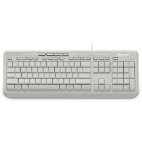 Keyboard Microsoft Wired 600 USB Gr White-