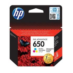 Cartridge HP Inkjet No 650 Tri-color (200p) - HP