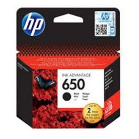 Cartridge HP Inkjet No 650 Black (360p)- HP