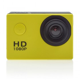 Wi-fi Waterproof Action Camera 4K Κίτρινο 0520.019