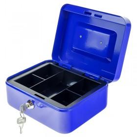 Φορητό Ταμείο με Κλειδαριά Μπλε 0818.061