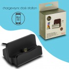 Docking Station Micro Usb Charge-Data Black 1018.022