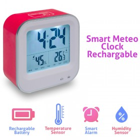 Smart Meteo Clock Recharge Pink 1018.426