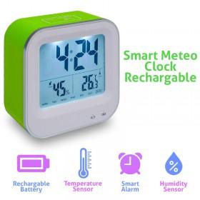 Smart Meteo Clock Recharge Green 1018.429