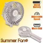 USB Summer Hand Fan White 1218.208