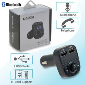 Car Kit Αυτοκινήτου Bluetooth-Φορτιστής X8 1218.312
