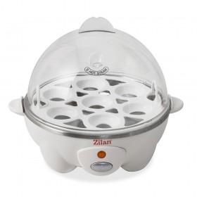 Zilan Βραστήρας Αυγών 7 Θέσεων 360W Άσπρος ZLN8068-WHITE ZLN8068-WHITE