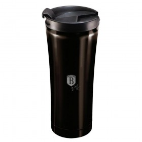 Berlinger Haus Ανοξείδωτο Θερμός - Παγούρι Καφέ 0,5L Μαύρο BH-6821 BH-6821