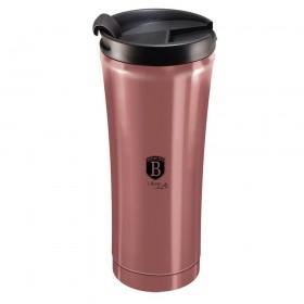 Berlinger Haus Ανοξείδωτο Θερμός - Παγούρι Καφέ 0,5L i-Rose BH-6409 ΒΗ-6409