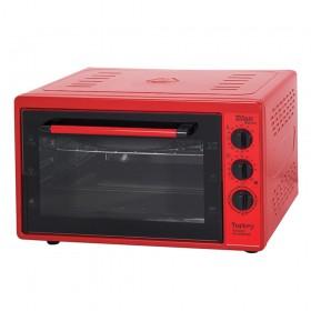 Zilan Ηλεκτρικός Φούρνος Κόκκινος 32L 1300W ZLN5320-RED ZLN5320-RED