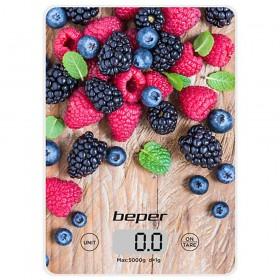 Beper Ζυγαριά Κουζίνας Ακριβείας έως 5Kg Φρούτα του Δάσους BP.803 BP.803