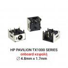 Dc Jack HP Pavilion TX1000 Series D076