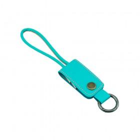 USB Μπρελοκ απο Βεραμάν Δερματίνη (USB σε Lightning Cable) G364
