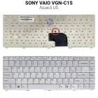 Πληκτρολόγιο Sony VAIO VGN-C1S Λευκό K499
