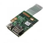 HP ProBook 6450b Firewire/USB/Card Reader Board NP0357