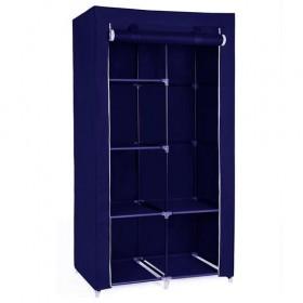 Φορητή υφασμάτινη ντουλάπα Herzberg HG-8010-BL Μπλε HG-8010-BL