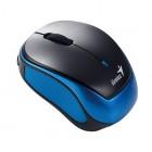 GENIUS MINI WIRELESS MOUSE 1200DPI BLUE OPTICAL RECH-BAT MT9000RV3/BLUE-Genius