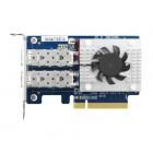 QNAP, NIC, 2x10GbE, SFP+, PCIE3.0 x8, MELLANOX QXG10G2SFCX4-Qnap