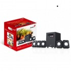 GENIUS SPEAKERS 1WAY, 5.1CH, 26W, WOODEN SUB, BLACK, V+B/C SW51/1020-Genius