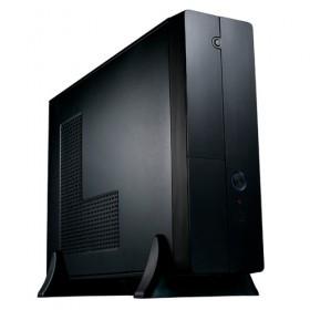 CASE MICRO M-ATX/M-ITX BLACK FRONT_U2/MIC/SPK/HD-A SFX MC8107-Eurocase
