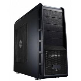 CASE MIDI ATX/M-ATX BLACK FRONT_U2/U3/MIC/SPK/HD-A, NO PSU ML/9206-Eurocase