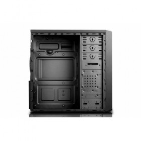 CASE MIDI ATX/M-ATX BLACK FRONT_U2/U3/MIC/SPK/HD-A, NO PSU ML/X605FAN-Eurocase
