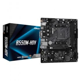 ATX AM4/AMD-B550 4DDR4 2PCIE16X 4PCIE1X GL B550M/HDV-Asrock
