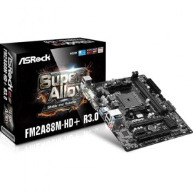 M-ATX FM2+/AMD-A88X HD-G 2DDR3 1PCIE16X 1PCI GL HDMI R3.0 FM2A88M/HD/PLUS-Asrock