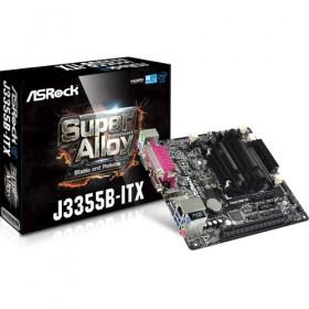 M-ITX J3355/DC 2soDDR3 PCIE-x16 S3 U3 GLAN VGA/HDMI J3355B/ITX-Asrock