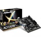 M-ATX N3150/QC 2DDR3 VGA GL S3 U3 HDMI DVI 1PCIE16X N3150M-Asrock