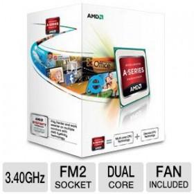 AMD A4-5300  3.40GHz 2CORES ATI-HD7480D 1MB 065W FM2 A4/5300-Amd