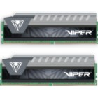 PE0564, PATRIOT VIPER ELITE DDR4, 2X08GB, 2666MHz, GRAY D4/2X08/266/VEG-Patriot