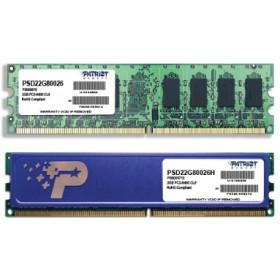 PS0573, PATRIOT soDDR2 002GB 0800MHz PC2-6400 2R/2S SD2/02/800/DD-Patriot