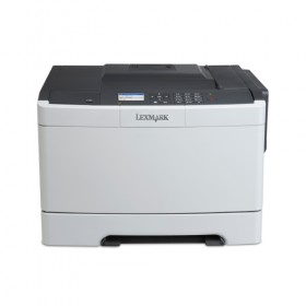 A4 COLOR LASER 30PPM/4800DPI/256MB/T250/LAN+USB CS410N-Lexmark