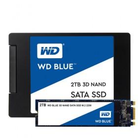 SSD BLUE 2.5 3D NAND SATA3 2TB 560/530 WDS200T2B0A-Western Digital
