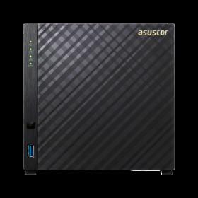 NAS/SOHO ARMADA DUAL CORE 1GHz ,512MB, 42.5'/3.5', 2U3 AS1004T-Asustor