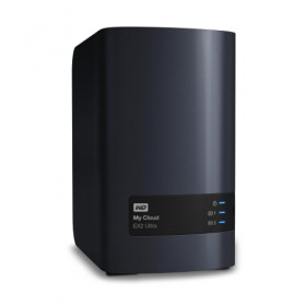 WD MY CLOUD EX2 ULTRA 1GB RAM 0TB DUAL CORE 1.3GHz WDBVBZ0000NCH-Western Digital
