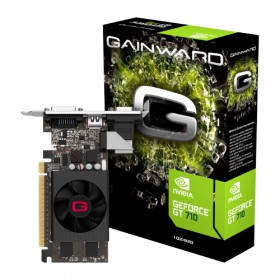 GT710, 1GB/D5, PCIE2x16, VGA-DVI-HDMI1.4A,FAN GT710/1297-Gainward