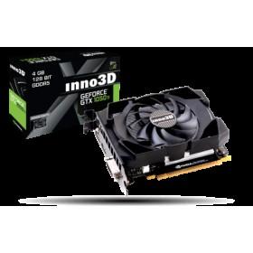 GTX1050Ti, 4GB/D5, PCIE3x16, DP-DVI-HDMI2.0b, 2SL-FAN N105T/1SDV/M5CM-Inno3D