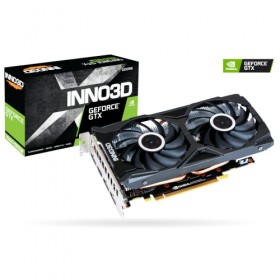 GTX1660S/TWINX2/OC, 6GB/D6, PCIE3x16,2xDP+HDMI 2.0 N166S2/06D6/1712VA15L-Inno3D