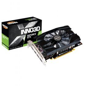 GTX1660Ti, 6GB/D6, PCIE3x16, DP/HDMI2.0b, 2SL-FAN N166T/06D6/1710VA29-Inno3D