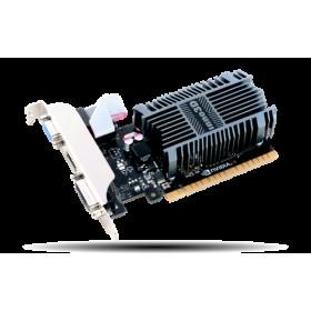 GT710, 2GB/D3, PCIE3x16, VGA-DVI-HDMI1.4a, 2SL-HEATSINK N710/1SDV/E3BX-Inno3D
