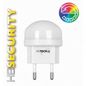 Heitech 04002225 Φωτάκι νυκτός LED με αυτόματη αλλαγή χρωμάτων - HEITECH