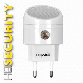 Heitech 04002226 Φωτάκι νυκτός LED με αισθητήρα φωτεινότητας - HEITECH