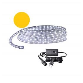 Χριστουγεννιάτικος φωτοσωλήνας LED - 20m - Κίτρινο χρώμα - 866838