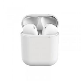 Ασύρματα ακουστικά bluetooth με βάση φόρτισης - DS200 - 880646 - White