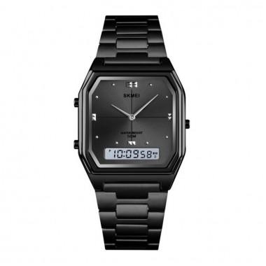 Αναλογικό ρολόι χειρός - Skmei - 1612 - Black