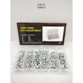 Copper washer assortments - 150 pcs - 678177