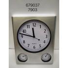 Ρολόι τοίχου - Λειτουργεί με μπαταρία - 7903