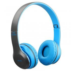 Ασύρματα ακουστικά bluetooth - Headphones - P47 - Blue